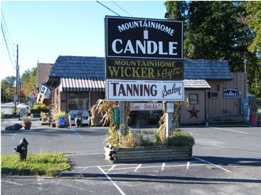 Mountainhome Candle Shop